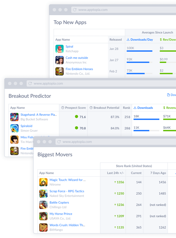 Top New Apps Screenshot
