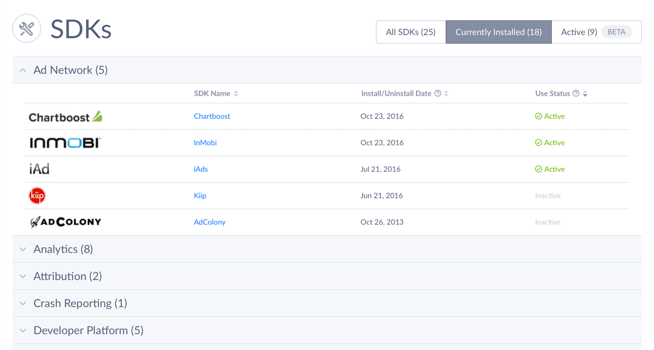 API Integration Screenshot